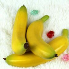 Plastik + Schaum Künstlich Bananen 6pcs Dekorativ Simulation Heim Dekor Mode