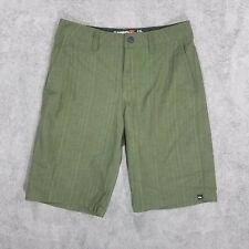 QuickSilver Amphibian Shorts Men's 26 Green Outdoor Walking Hiking Swim