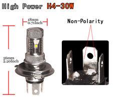 1x 12V-24V 30W H4 HB2 9003 Bulb 6000k HID White LED DRL Fog Driving Light