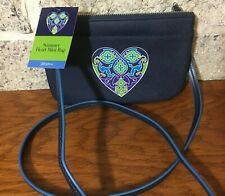 NEW Brighton Summer Heart Mini Bag Crossbody $50 HANDBAG CELLPHONE PURSE SOPHIA