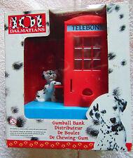 Disney ~ 101 Dalmatians - Telebone, Telephone - Gumball Coin Bank - 1996 -  New