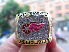 1998 Detroit Red Wings Stanley Cup Championship Ring Replica Fan Men Gift