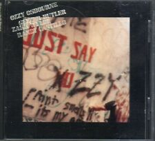 OZZY OSBOURNE JUST SAY OZZY 1° STAMPA + FOTO 1990 CD