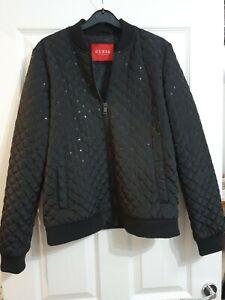Ladies Guess Denim Style Jacket Size Large