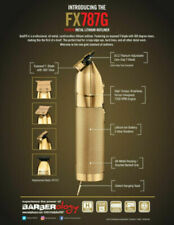 BaByliss PRO Gold FX Skeleton Exposed T-Blade Cordless Trimmer FX787G - NEW