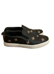 Gucci Bee Slip On Shoes