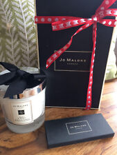 "Jo Malone London Basil & Neroli Scented Candle 200g Large Glass 2.5"" in Box"