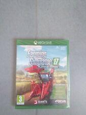 FARMING SIMULATOR 17 PLATINUM EDITION SIGILLATO XBOX ONE XB1 SERIE X #ebayheroes