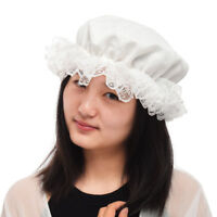 Vintage Victorian Edwardian Maid's Mob Cap Retro Civil War Colonial Lace Mob Hat