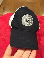 NEVER WORM Vail Golf Club Black And White Hat Cap Imperial