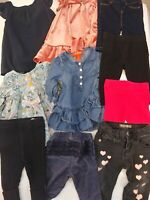 Baby Girl Clothing Lot 3-6 Months Guess Old Navy Baby Gap Leggings Tops 10 Piece