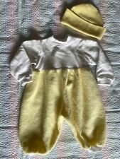 Lee Middleton Doll Clothes Outfit Yellow/White Fleece Romper Cape