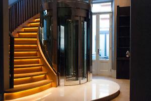 Oak bespoke banister and handrail,stair