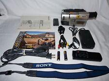 Sony Handycam CCD-TRV87 8mm Video8 HI8 Camcorder Player Stereo Video Transfer