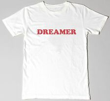 """Dreamer"" Unisex Printed Slogan Fashion Tshirt Graphic Tee Top"