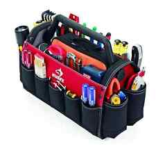 Husky Heavy Duty Portable Tool Bag Organizer Tote Storage, Rotating Handle 17 in