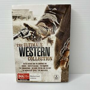 The Ultimate Western Collection DVD 8-Disc Set Region 4 PAL