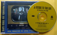 JOE WALSH & LITA FORD A Future To This Life PROMO CD SINGLE Robocop TV EAGLES 94