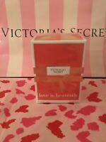 New Sealed Victoria's Secret  Love is Heavenly  Eau de parfum 50 ml / 1.7 fl oz
