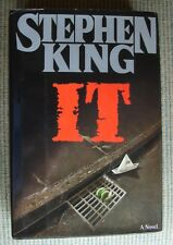 IT by Stephen King (1986, Hardcover) -1st-1st- VERY RARE- VERY NICE