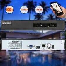 8CH 1080P H.264 IP P2P Cloud Network NVR Digital Video Recorder Onvif USB W7T5