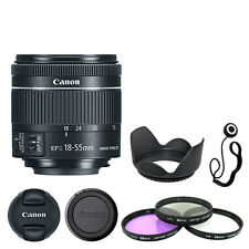 Canon EF-S 18-55mm f/4-5.6 IS STM Lens + Deluxe Accessory Kit