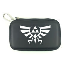 Legend of Zelda Hylian Crest Travel Hard Carry Case Pouch for Nintendo DSi 3DS