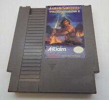 Nintendo NES Iron Sword Wizards & Warriors II Game Cartridge, Works R13342