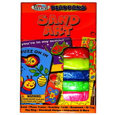 Sand Art Tommy Nelson PlayPaks Kids Art Activity Kit Contains 7 Projects NEW