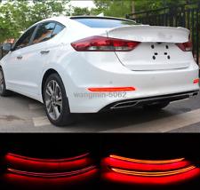 For 2016 2017 2018 Hyundai Elantra Rear Bumper decoration lamp LED brake light