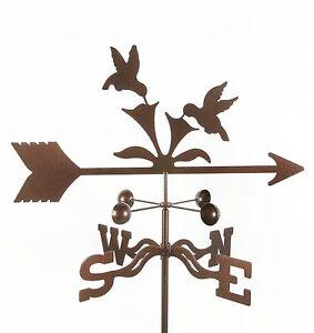 Hummingbird Weathervane -  Humming Bird - Weather Vane - w/ Choice of Mount