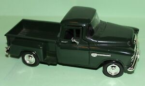1955 Chevrolet Stepside Pickup Truck Diecast 1:24 MODEL NO. 68064 with Hitch