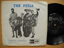 """THE PEELS Juanita Banana / Fun 45 7"""" single 1966 Sweden EX-"""