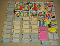 Lot ARAH 1980s 1990s GI Joe Figure Dreadnok Cobra Command Bio File Card Back Set