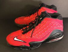 Nike Air Griffey Max II Red Black 442171-600 Swingman Shoes Size 13
