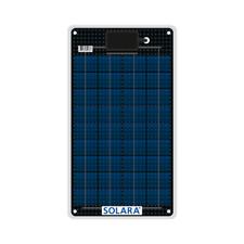 Semi Flexible Solar Panel SOLARA Marine S50P36 12W 12V made in Germany