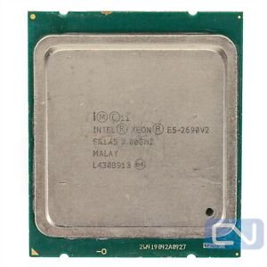Intel Xeon E5-2690 V2 3GHz 25MB 8GT/s SR1A5 LGA2011 Fair Grade Server CPU