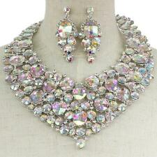 Pageant, Prom, Bridal, Drag-Queen Necklace Set 150433AB