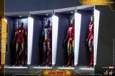 Hot Toys Iron Man 3 - Iron Man Hall of Armor Miniature Collectible Set of 7 (AU)