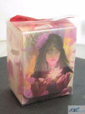 LEGION SUPPLIES DECK BOX CARD BOX LOTUS GIRL FOR MTG POKEMON CARDS