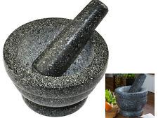 Cuisine naturelle granite pilon et mortier spice herb crusher broyeur broyage