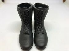 "GI JOE  Black Boots   FOR 12"" ACTION FIGURE 1/6 SCALE 1:6 21st Century"