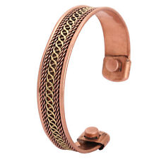 Mens Women Magnetic Pure Copper Bracelet-Bangle Arthritis-Pain Relief Bio Torque