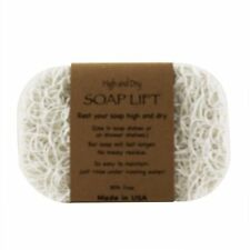 WHITE SOAP LIFT SOAP DISH, THE BEST WAY TO KEEP YOUR SOAP FREE OF MUCK   - NWT