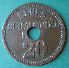 Old Rare Deutsche Berlin Neues Shauspielhaus set 2 pcs 2904.2&3.-mehr am ebay.pl