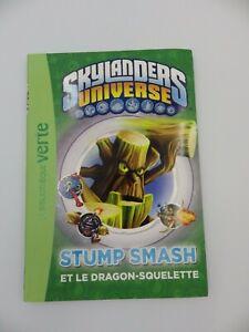 Buch Nr. 6 Stump Smash Skylanders Book Verte Vers. Französisch