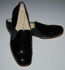 Elizabeth and James Women's Black Cort Patent Leather Loafers Sz 5 1/2 $325