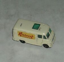LESNEY MADE in ENGLAND MATCHBOX TV SERVICE VAN Number 2 DIECAST with DECALS
