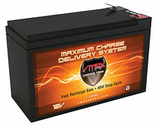 VMAX V10-63 10Ah 12V Deep Cycle AGM Replacement Battery for APC UNIT BACKUP UP