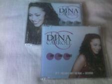 DINA CARROLL - ONE TWO THREE - UK 2 CD SINGLE SET